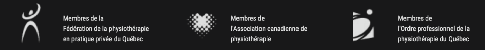 logos membres assocations physiothérapie